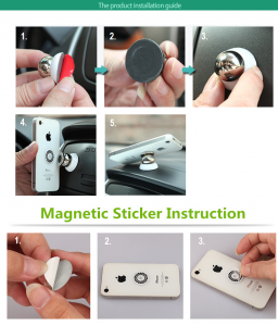 Instruktion magnetholder